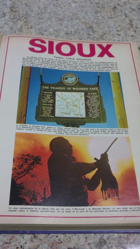 Coleccionismo de Revista Gaceta Ilustrada: MAGNIFICO,LOTE:Revista GACETA ILUSTRADA nº 860-AL-872-(1-4/24-6-1973)ENCUADERNADO-VER FOTOS - Foto 2 - 33109684