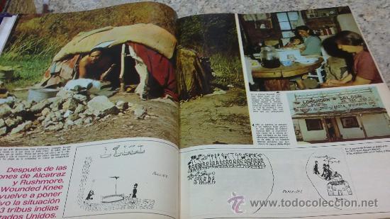 Coleccionismo de Revista Gaceta Ilustrada: MAGNIFICO,LOTE:Revista GACETA ILUSTRADA nº 860-AL-872-(1-4/24-6-1973)ENCUADERNADO-VER FOTOS - Foto 3 - 33109684