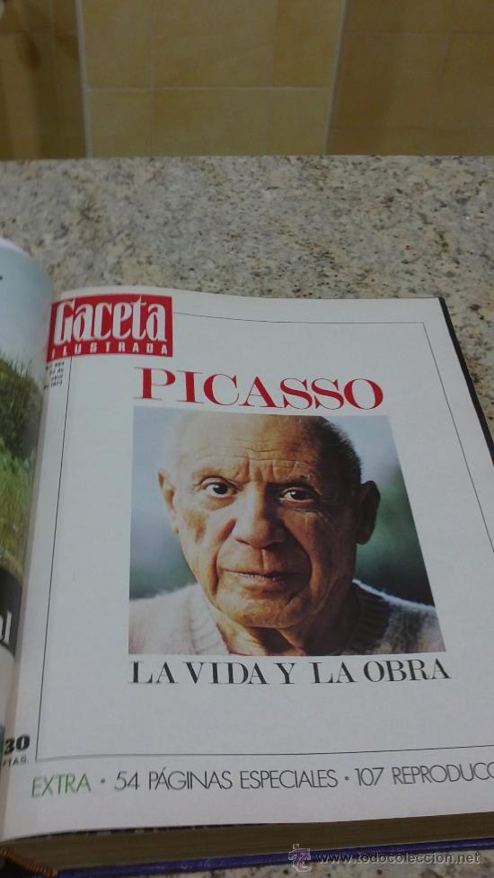 Coleccionismo de Revista Gaceta Ilustrada: MAGNIFICO,LOTE:Revista GACETA ILUSTRADA nº 860-AL-872-(1-4/24-6-1973)ENCUADERNADO-VER FOTOS - Foto 7 - 33109684