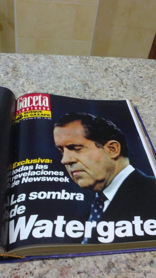 Coleccionismo de Revista Gaceta Ilustrada: MAGNIFICO,LOTE:Revista GACETA ILUSTRADA nº 860-AL-872-(1-4/24-6-1973)ENCUADERNADO-VER FOTOS - Foto 11 - 33109684