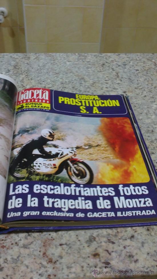 Coleccionismo de Revista Gaceta Ilustrada: MAGNIFICO,LOTE:Revista GACETA ILUSTRADA nº 860-AL-872-(1-4/24-6-1973)ENCUADERNADO-VER FOTOS - Foto 14 - 33109684