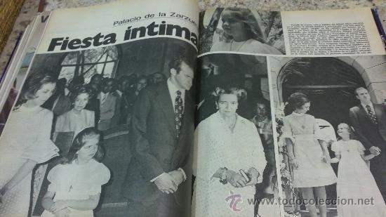 Coleccionismo de Revista Gaceta Ilustrada: MAGNIFICO,LOTE:Revista GACETA ILUSTRADA nº 860-AL-872-(1-4/24-6-1973)ENCUADERNADO-VER FOTOS - Foto 15 - 33109684