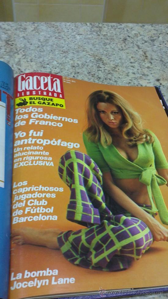 Coleccionismo de Revista Gaceta Ilustrada: MAGNIFICO,LOTE:Revista GACETA ILUSTRADA nº 860-AL-872-(1-4/24-6-1973)ENCUADERNADO-VER FOTOS - Foto 17 - 33109684