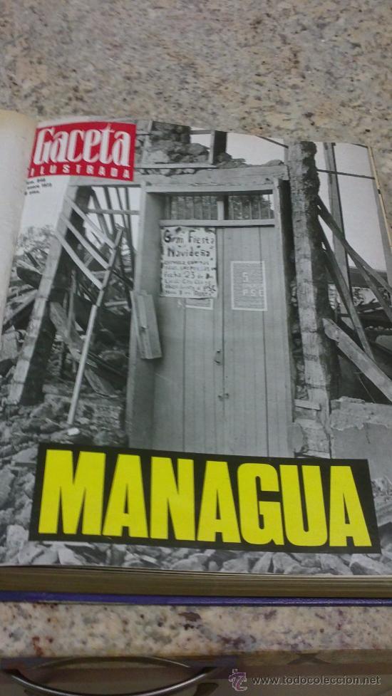 MAGNIFICO,LOTE:REVISTA GACETA ILUSTRADA Nº 848-AL-859-(7-1/9-3-1973)ENCUADERNADO-VER FOTOS (Coleccionismo - Revistas y Periódicos Modernos (a partir de 1.940) - Revista Gaceta Ilustrada)
