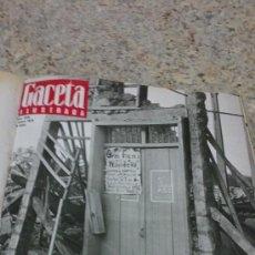 Coleccionismo de Revista Gaceta Ilustrada: MAGNIFICO,LOTE:REVISTA GACETA ILUSTRADA Nº 848-AL-859-(7-1/9-3-1973)ENCUADERNADO-VER FOTOS. Lote 33109441