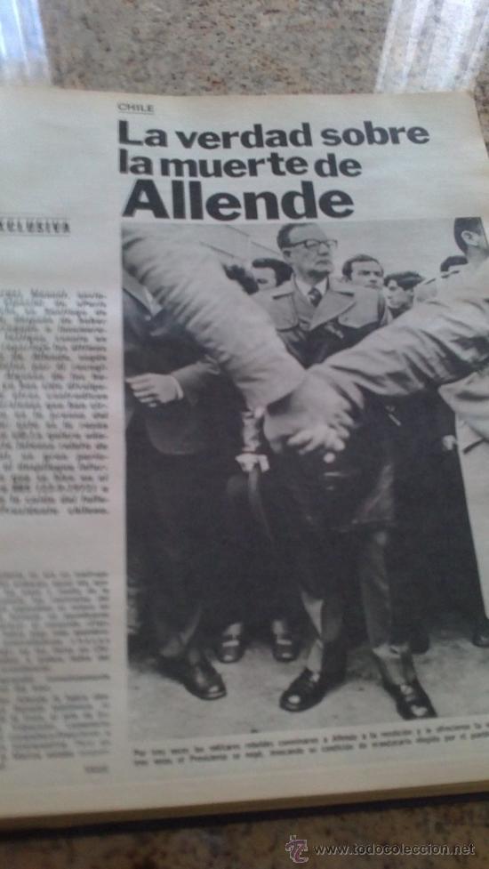 Coleccionismo de Revista Gaceta Ilustrada: MAGNIFICO,LOTE:Revista GACETA ILUSTRADA nº 887-AL-899-(1-10/30-12-1973)ENCUADERNADO-VER FOTOS - - Foto 17 - 33109935