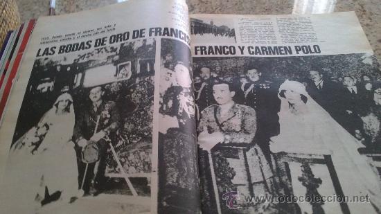 Coleccionismo de Revista Gaceta Ilustrada: MAGNIFICO,LOTE:Revista GACETA ILUSTRADA nº 887-AL-899-(1-10/30-12-1973)ENCUADERNADO-VER FOTOS - - Foto 14 - 33109935