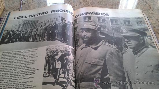 Coleccionismo de Revista Gaceta Ilustrada: MAGNIFICO,LOTE:Revista GACETA ILUSTRADA nº 887-AL-899-(1-10/30-12-1973)ENCUADERNADO-VER FOTOS - - Foto 11 - 33109935