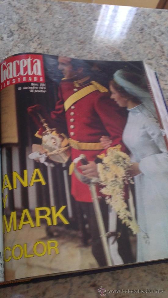 Coleccionismo de Revista Gaceta Ilustrada: MAGNIFICO,LOTE:Revista GACETA ILUSTRADA nº 887-AL-899-(1-10/30-12-1973)ENCUADERNADO-VER FOTOS - - Foto 9 - 33109935