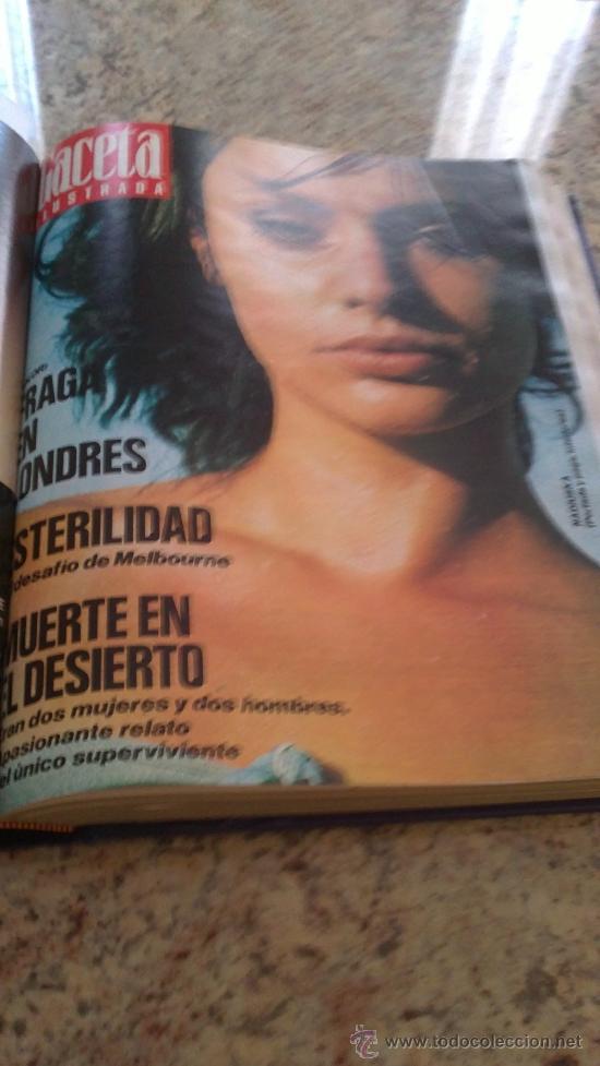 Coleccionismo de Revista Gaceta Ilustrada: MAGNIFICO,LOTE:Revista GACETA ILUSTRADA nº 887-AL-899-(1-10/30-12-1973)ENCUADERNADO-VER FOTOS - - Foto 8 - 33109935
