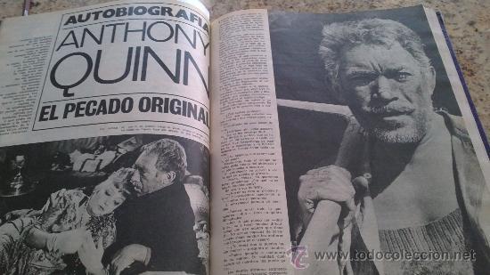 Coleccionismo de Revista Gaceta Ilustrada: MAGNIFICO,LOTE:Revista GACETA ILUSTRADA nº 887-AL-899-(1-10/30-12-1973)ENCUADERNADO-VER FOTOS - - Foto 6 - 33109935