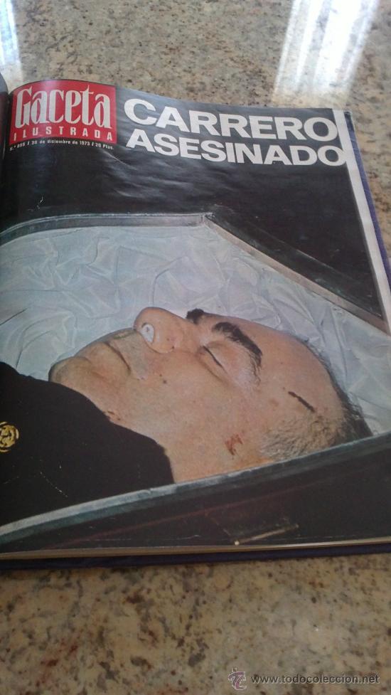 Coleccionismo de Revista Gaceta Ilustrada: MAGNIFICO,LOTE:Revista GACETA ILUSTRADA nº 887-AL-899-(1-10/30-12-1973)ENCUADERNADO-VER FOTOS - - Foto 2 - 33109935