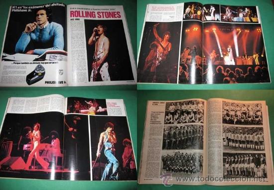 Coleccionismo de Revista Gaceta Ilustrada: GACETA ILUSTRADA nº 924/1974 Rolling Stones~Haiti~Mundial Futbol Alemania~Miguel Angel Asturias - Foto 2 - 33610193
