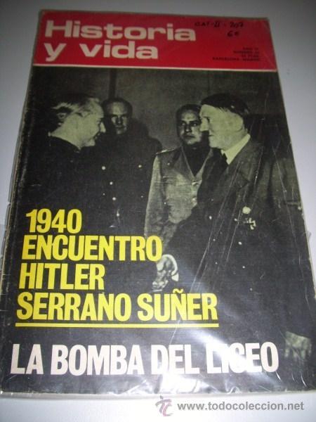 HISTORIA Y VIDA, Nº 63, JUNIO, 1973 (Coleccionismo - Revistas y Periódicos Modernos (a partir de 1.940) - Revista Gaceta Ilustrada)