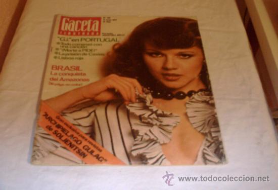 GACETA ILUSTRADA Nº 918 12 MAYO 1974 (Coleccionismo - Revistas y Periódicos Modernos (a partir de 1.940) - Revista Gaceta Ilustrada)