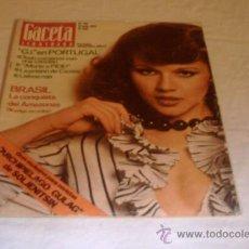 Coleccionismo de Revista Gaceta Ilustrada: GACETA ILUSTRADA Nº 918 12 MAYO 1974 . Lote 34331471