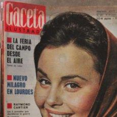 Coleccionismo de Revista Gaceta Ilustrada: GACETA ILUSTRADA - 16-6-1962 ROCIO DURCAL. Lote 34585709
