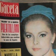 Coleccionismo de Revista Gaceta Ilustrada: GACETA ILUSTRADA - 27-6-1963 VIRNA LISI. Lote 34585882