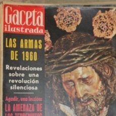 Coleccionismo de Revista Gaceta Ilustrada: GACETA ILUSTRADA - 9-4-1960 SEMANA SANTA. Lote 34586183