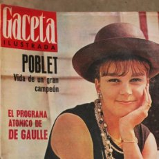 Collectionnisme de Magazine Gaceta Ilustrada: GACETA ILUSTRADA - 2-2-1963 MILVA. Lote 34587106