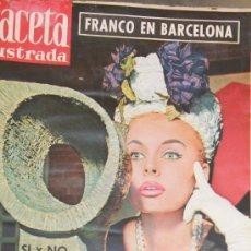 Collectionnisme de Magazine Gaceta Ilustrada: GACETA ILUSTRADA - 7-5-1960 SOMBREROS DE MADRID. Lote 34587452