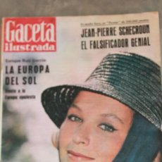 Coleccionismo de Revista Gaceta Ilustrada: GACETA ILUSTRADA - 5-5-1962 MARINA VLADY. Lote 34587509