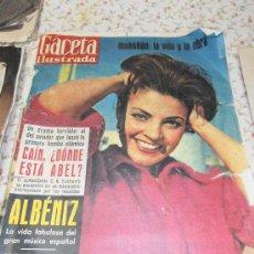 Coleccionismo de Revista Gaceta Ilustrada: GACETA ILUSTADA. Lote 34680857