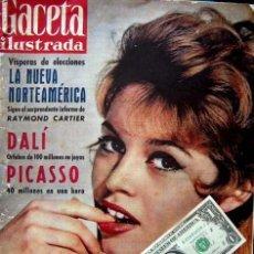 Coleccionismo de Revista Gaceta Ilustrada: GACETA ILUSTRADA 1960 / SALVADOR DALI, BRIGITTE BARDOT, PABLO PICASSO. Lote 34792356