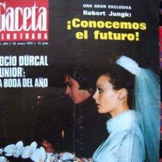 Coleccionismo de Revista Gaceta Ilustrada: GACETA ILUSTRADA 1970 / BODA DE ROCIO DURCAL Y JUNIOR / KIM NOVAK. Lote 34792391