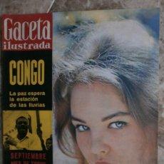 Coleccionismo de Revista Gaceta Ilustrada: GACETA ILUSTRADA. Nº206. 1960.PALOMA VALDES,C.MARTINEZ BORDIU,C.FRANCO POLO,P.VALDES,J.GARLAND.. Lote 35951586