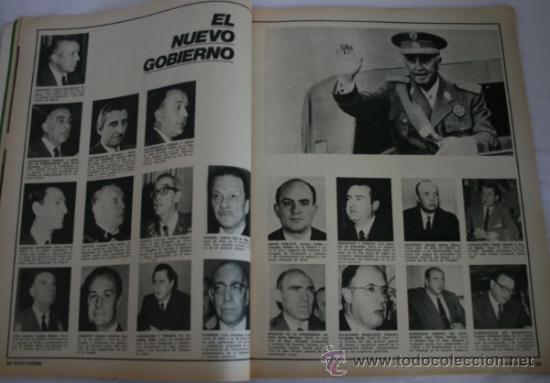 Coleccionismo de Revista Gaceta Ilustrada: REVISTA GACETA ILUSTRADA 901 1974 - CARLOS ARIAS, MADRID, BILBAO, SANTA TERESA DE JOURNET, NAVIPLANO - Foto 2 - 36863101