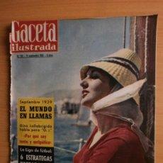Coleccionismo de Revista Gaceta Ilustrada: GACETA ILUSTRADA Nº153.1959.LA COSTA BLANCA,KUBALA,DIDI,GINA LOLLOBRIGIDA,DI STEFANO.. Lote 36869223