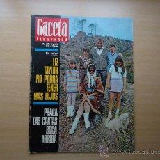 Coleccionismo de Revista Gaceta Ilustrada: REVISTA GACETA ILUSTRADA - LIZ TAYLOR -. Lote 37486894