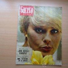 Coleccionismo de Revista Gaceta Ilustrada: REVISTA GACETA ILUSTRADA - ELKE SOMMER - Y EL TENISTA SANTANA. Lote 37490148