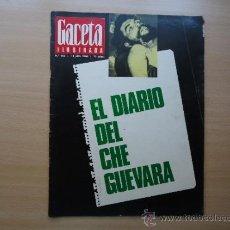 Coleccionismo de Revista Gaceta Ilustrada: REVISTA GACETA ILUSTRADA - BOB KENNEDY , EL DIARIO DEL CHE GUEVARA- AÑO 1968 . Lote 37796215