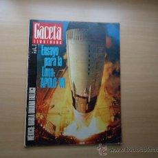 Coleccionismo de Revista Gaceta Ilustrada: REVISTA GACETA ILUSTRADA - APOLO VII , JUEGOS OLIMPICOS DE MEXICO - AÑO 1968 . Lote 37796400