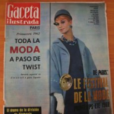 Collectionnisme de Magazine Gaceta Ilustrada: REVISTA GACETA ILUSTRADA 282 1962 ACCIDENTE MARCH ARTOLA RECORD VIVIENDAS SEVILLA PORTERO RAMALLETS . Lote 37588293