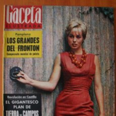 Collectionnisme de Magazine Gaceta Ilustrada: GACETA ILUSTRADA 312 1962 - PELOTARIS PAMPLONA TIERRA DE CAMPOS TERESA NEUMANN BAVIERA MICHEL SIFFRE. Lote 37598548