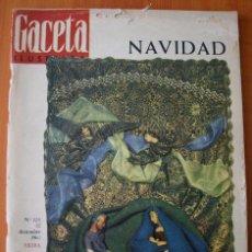 Coleccionismo de Revista Gaceta Ilustrada: GACETA ILUSTRADA 480 1965 - EXTRA NAVIDAD, HERMANAS DIONNE CASA ESPAÑA ALEMANIA 5 HERMANOS SANTANDER. Lote 37600967
