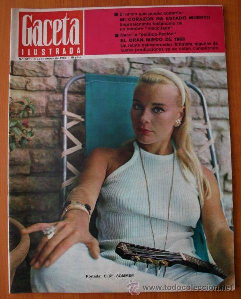 GACETA ILUSTRADA 867 1973 - ULTIMO CAPITULO DE MUERTE EN LA TARDE, LUNAR ORBITER, CORAZON PARADO (Coleccionismo - Revistas y Periódicos Modernos (a partir de 1.940) - Revista Gaceta Ilustrada)