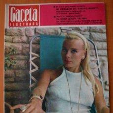 Coleccionismo de Revista Gaceta Ilustrada: GACETA ILUSTRADA 867 1973 - ULTIMO CAPITULO DE MUERTE EN LA TARDE, LUNAR ORBITER, CORAZON PARADO. Lote 37653482