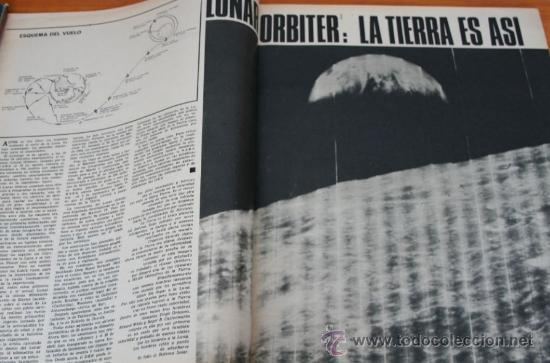 Coleccionismo de Revista Gaceta Ilustrada: GACETA ILUSTRADA 867 1973 - ULTIMO CAPITULO DE MUERTE EN LA TARDE, LUNAR ORBITER, CORAZON PARADO - Foto 2 - 37653482