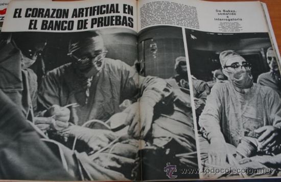 Coleccionismo de Revista Gaceta Ilustrada: GACETA ILUSTRADA 518 1966 - TRUMAN CAPOTE, VIETNAM, EL CORAZON ARTIFICIAL EN EL BANCO DE PRUEBAS - Foto 4 - 37653841