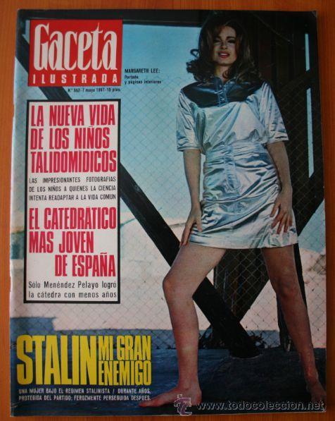 GACETA ILUSTRADA 552 1967 - STALIN, NIÑOS TALIDOMIDICOS, LENS TUERO, CARAVANAS DEL SIGLO XX (Coleccionismo - Revistas y Periódicos Modernos (a partir de 1.940) - Revista Gaceta Ilustrada)