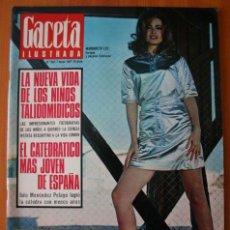 Coleccionismo de Revista Gaceta Ilustrada: GACETA ILUSTRADA 552 1967 - STALIN, NIÑOS TALIDOMIDICOS, LENS TUERO, CARAVANAS DEL SIGLO XX. Lote 37654013