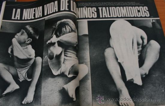 Coleccionismo de Revista Gaceta Ilustrada: GACETA ILUSTRADA 552 1967 - STALIN, NIÑOS TALIDOMIDICOS, LENS TUERO, CARAVANAS DEL SIGLO XX - Foto 2 - 37654013