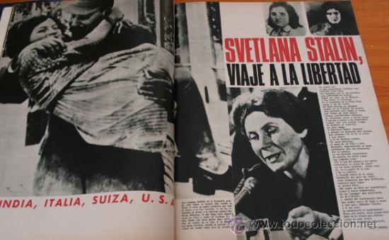 Coleccionismo de Revista Gaceta Ilustrada: GACETA ILUSTRADA 552 1967 - STALIN, NIÑOS TALIDOMIDICOS, LENS TUERO, CARAVANAS DEL SIGLO XX - Foto 3 - 37654013