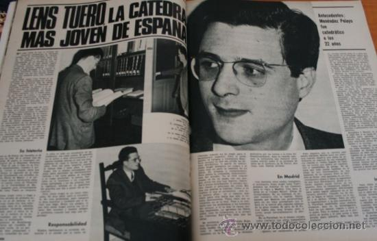 Coleccionismo de Revista Gaceta Ilustrada: GACETA ILUSTRADA 552 1967 - STALIN, NIÑOS TALIDOMIDICOS, LENS TUERO, CARAVANAS DEL SIGLO XX - Foto 4 - 37654013