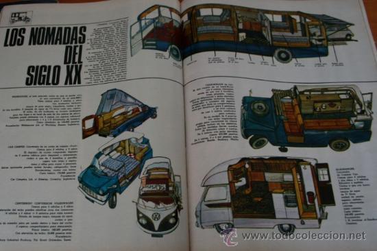Coleccionismo de Revista Gaceta Ilustrada: GACETA ILUSTRADA 552 1967 - STALIN, NIÑOS TALIDOMIDICOS, LENS TUERO, CARAVANAS DEL SIGLO XX - Foto 5 - 37654013
