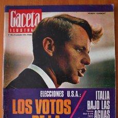 Coleccionismo de Revista Gaceta Ilustrada: GACETA ILUSTRADA 528 1966 - JOSE ANTONIO PRIMO DE RIVERA, ITALIA INUNDADA, VIETNAM, ROBERT KENNEDY. Lote 37656528